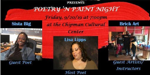 LAFF'N JAZZ Entertainment POETRY 'N PAINT NIGHT