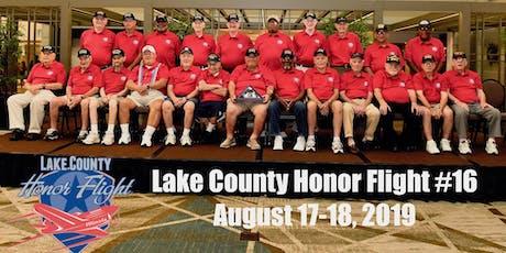 Lake County Honor Flight Reunion tickets