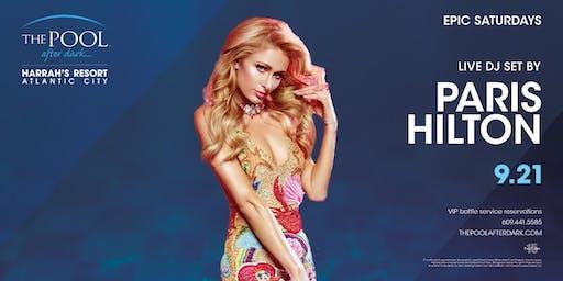 Paris Hilton | Epic Saturdays at The Pool REDUCED Guestlist