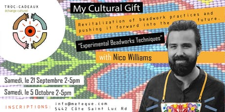 Troc-Cadeaux: Experimental Beadworks Techniques with Nico Williams tickets