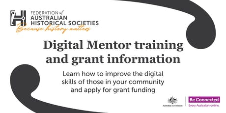 Digital Mentor training and grant information tickets