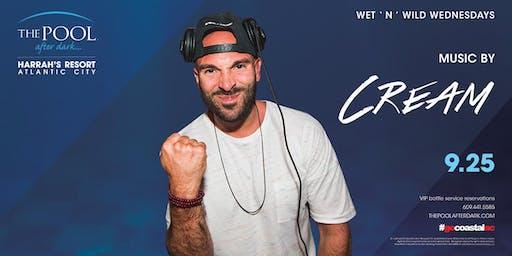 Wet 'N' Wild Wednesday with DJ Cream at The Pool After Dark - FREE GUESTLIST