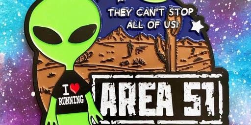 The AREA 51 Fun Run and Walk 5.1 -Olympia