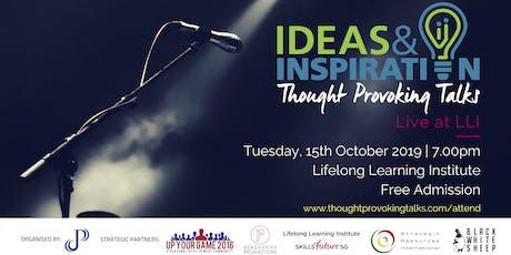 Ideas & Inspiration: Live at LLI (October 2019) tickets