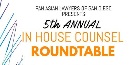 PALSD Presents: 5th Annual In-House Counsel Roundtable