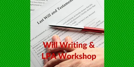 "Who gets your money? - Free Public Talk on ""Will Writing & LPA"" (English) tickets"