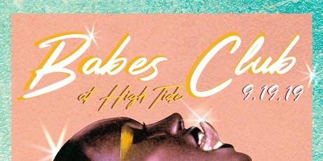 BABES CLUB tickets