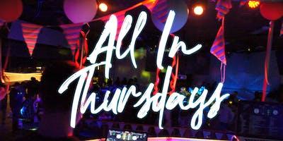 All In Thursdays 18+