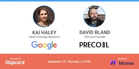 Evolution of Design Sprints (w/ Google) & Testing Business Ideas (w/ Precoil) tickets