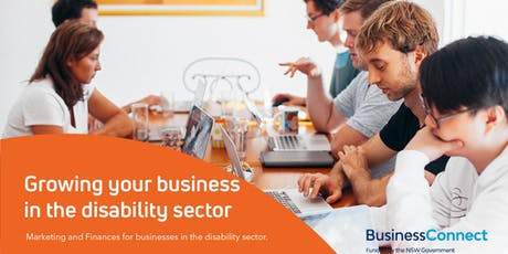 Growing Your Business in the Disability Sector - Tamworth tickets
