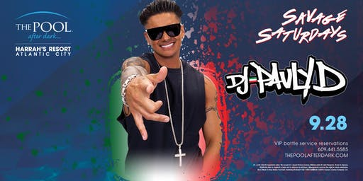 DJ Pauly D | Epic Saturdays at The Pool REDUCED Guestlist