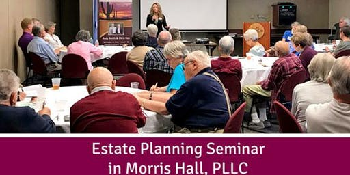 (Sept 19th) – 8 Most Costly Mistakes in Estate Planning (Surprise, AZ)