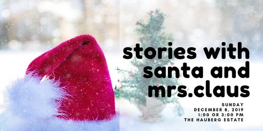 Stories with Santa and Mrs Claus