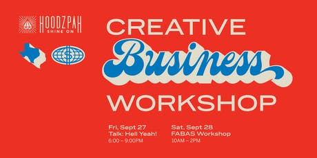 Hoodzpah Creative Business Talk + Workshop tickets