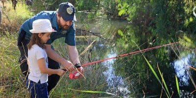 Junior Rangers Fishing Clinic - Patterson River