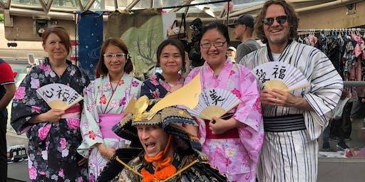Japanese cultural workshop at Japan Market Vancouver 12:30pm