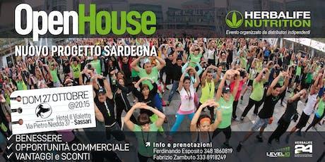 Open House - Nuovo progetto Sardegna - Herbalife Nutrition biglietti