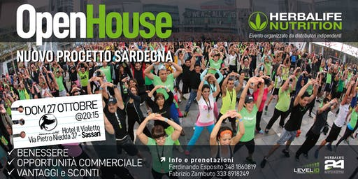 Open House - Nuovo progetto Sardegna - Herbalife Nutrition