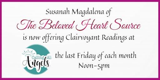 30min Clairvoyant Reading w/Susanah Magdalena