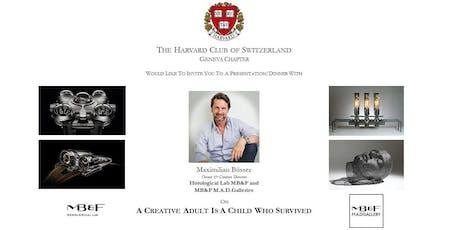 Harvard Club of Geneva - 18th Sept. 2019 Talk & Dinner tickets