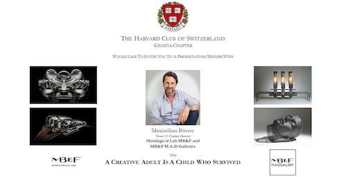 Harvard Club of Geneva - 18th Sept. 2019 Talk & Dinner