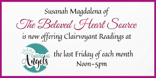 1 Hour Clairvoyant Reading w/Susanah Magdalena