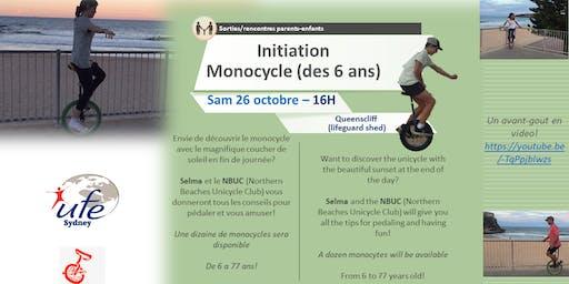 Initiation Monocycle (des 6 ans)
