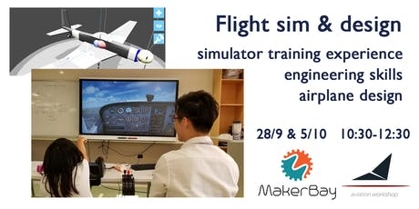 Flight sim & aircraft design @MakerBay tickets