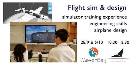 Flight sim & aircraft design @MakerBay tickets