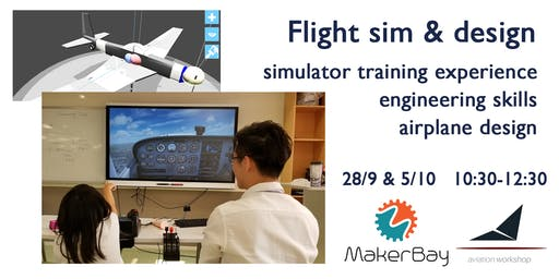 Flight sim & aircraft design @MakerBay