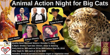 Animal Action Night for Big Cats tickets