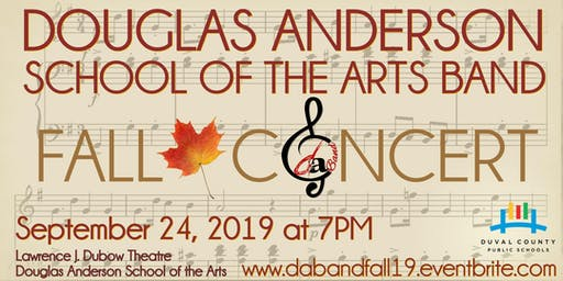 Douglas Anderson School of the Arts Band Fall Concert