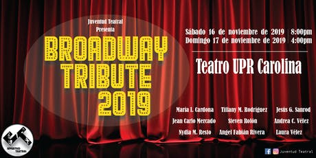 BROADWAY TRIBUTE 2019 tickets