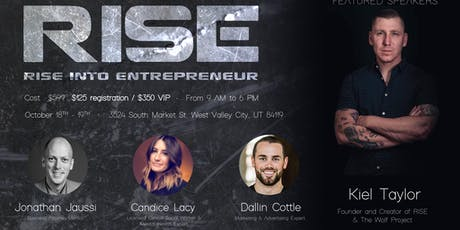 RISE INTO ENTREPRENEUR tickets