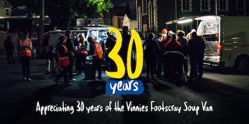 Vinnies Footscray Soup Van 30th Anniversary