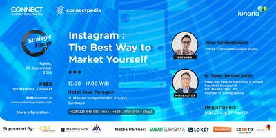 Instagram's Best Way to Market Yourself (Paid Event)