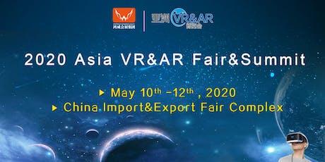 2020 Asia VR&AR Fair&Summit tickets