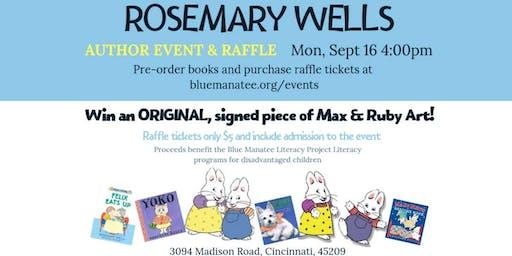 Rosemary Wells Event & Raffle!