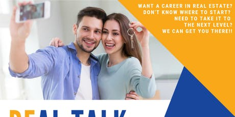 REal Talk -REal Estate Career & Business Hiring Event tickets
