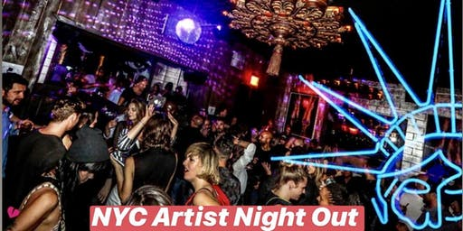 NYC ARTIST NIGHT - BOHEMIAN FRIDAYS (FREE YOURSELF!)