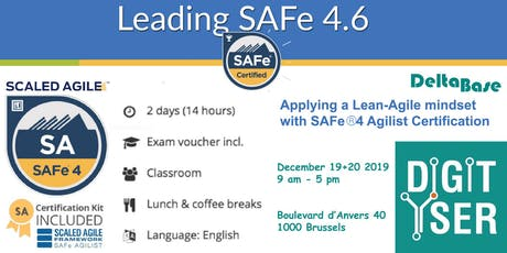 Leading SAFe - SAFe Agilist 4.6 certified training tickets