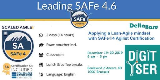 Leading SAFe - SAFe Agilist 4.6 certified training