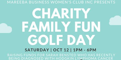 MBWC Charity Family Fun Golf Day for Sarah Bensted tickets