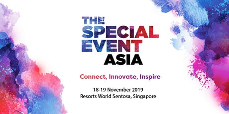 The Special Event Asia 2019 tickets