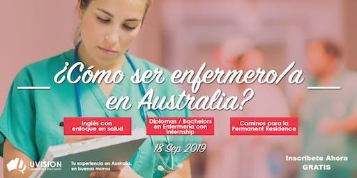 Como ser Enfermero/a en Australia