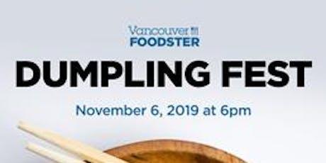 Dumpling Fest Vancouver  tickets