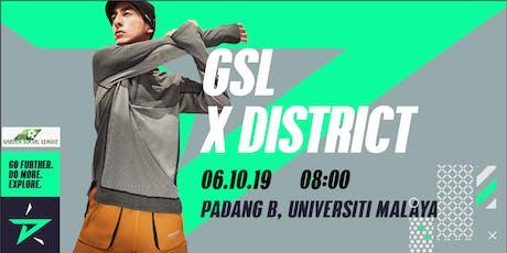 GSL x District Race #exploreUM tickets