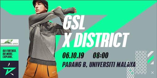 GSL x District Race #exploreUM