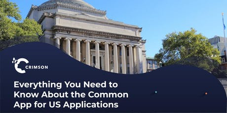 Everything you need to know about the Common App for US applications tickets