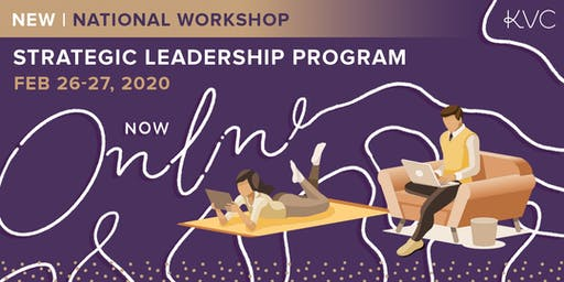 Strategic Leadership Program - Online Workshop (National)